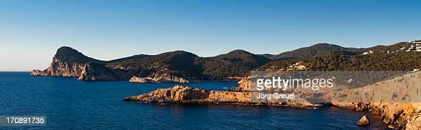 Ibiza coastline at Cap Nono