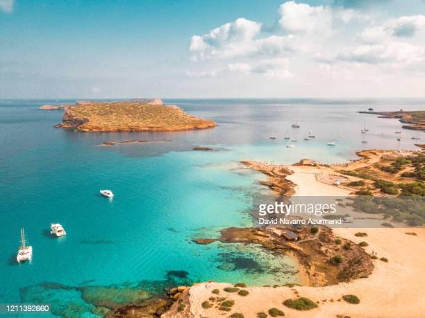ibiza es el paraíso - spanien stock-fotos und bilder