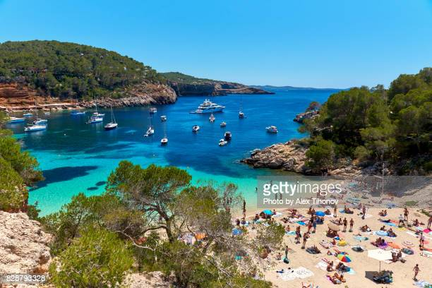 ibiza island - balearic islands stock pictures, royalty-free photos & images