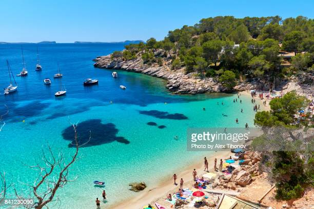 ibiza island - mediterranean sea stock pictures, royalty-free photos & images