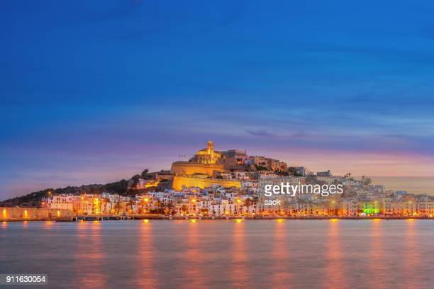 ibiza town - balearic islands stock pictures, royalty-free photos & images