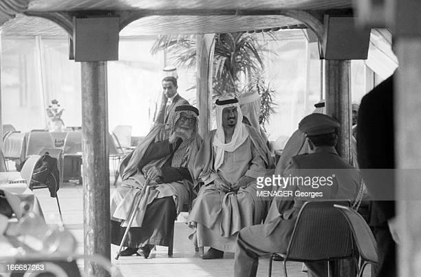 Ibn Saud Of Saudi Arabia In Paris En avril 1963 Abdelaziz ben Abderrahman ben Fayçal AL SAOUD appelé aussi Ibn SAOUD ou Ibn SEOUD fondateur et...