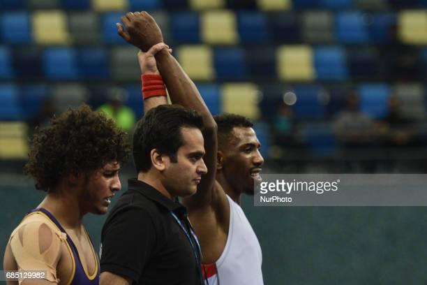 Ibrahim A Abdali Khalil Of Saudi Arabia Wins Against Hussain Abdullah Hus Al Azzani Yemen