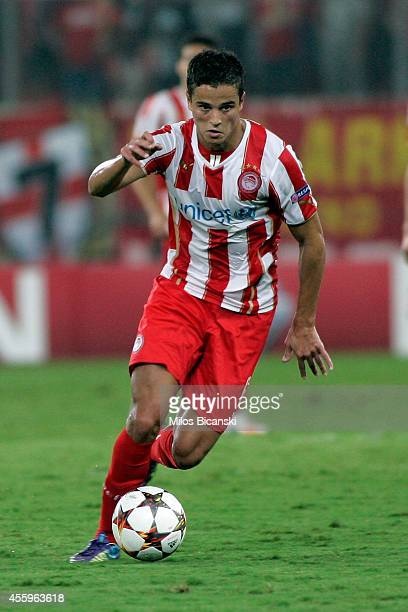 Ibrahim Afellay of Olympiacos in action during the UEFA Champions League Group A match between Olympiakos and Atletico Madrid at Georgios Karaiskakis...