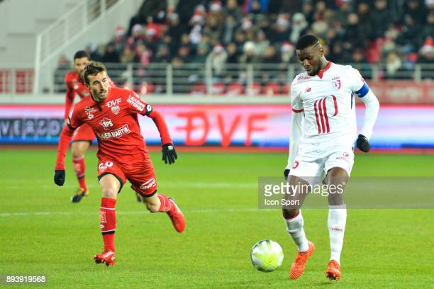 Ibrahim Amadou of Lille during the Ligue 1 match between Dijon FCO and Lille OSC at Stade Gaston Gerard on December 16 2017 in Dijon
