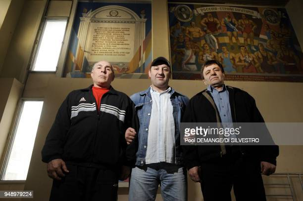 Ibrahim Aram and Sultan honorable sports masters Three generations of trainers and GraecoRoman wrestling champions transiting from Soviet fanaticism...