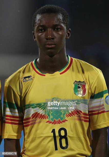 Ibrahim Kane of Mali looks on during the FIFA U17 World Cup India 2017 group B match between Paraguay and Mali at Dr DY Patil Cricket Stadium on...