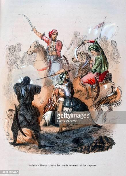Ibrahim Pasha fighting the Wahabis Saudi Arabia 18111818 The son of Muhammad Ali Pasha Ottoman Viceroy of Egypt Ibrahim Pasha commanded the Egyptian...