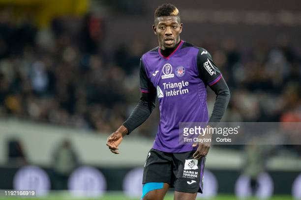 December 04: Ibrahim Sangare of Toulouse during the Toulouse FC V AS Monaco, French Ligue 1 regular season match at the Stadium Municipal de Toulouse...