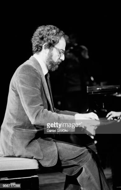 Ibrahim Souss représentant de l'OLP en France donne un concert à Rennes le 7 novembre 1979 France