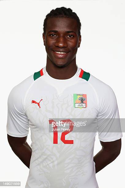 Ibrahima Balde of Senegal poses during a portrait session on July 22 2012 in Manchester England