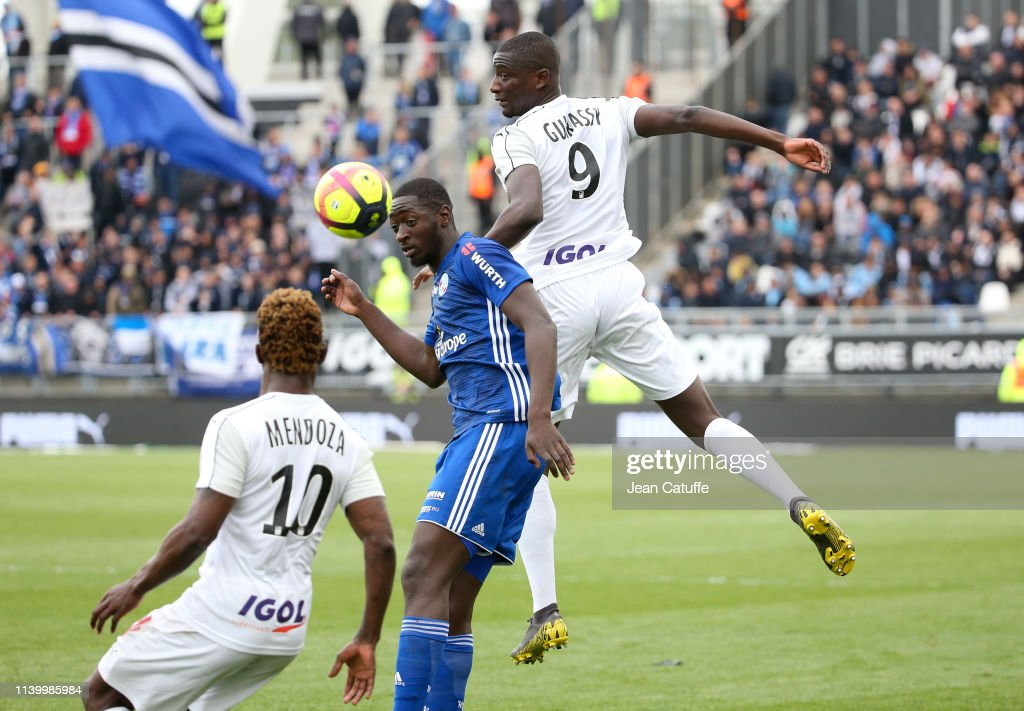 Amiens SC v RC Strasbourg - Ligue 1 : News Photo