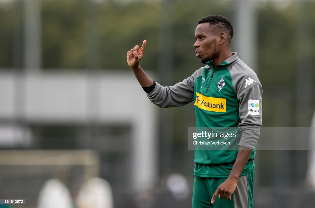 Ibrahima Traore during the training session of Borussia Moenchengladbach at Borussia-Park on August 18, 2017 in Moenchengladbach, Germany.