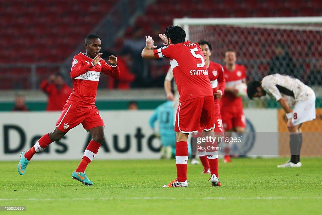 VfB Stuttgart v FC St. Pauli - DFB Cup