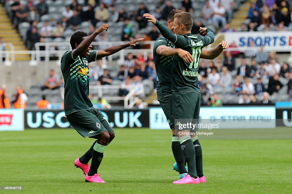 Newcastle United  v Borussia Moenchengladbach  - Preseason Friendly
