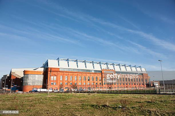 ibrox stadium, glasgow - theasis stock pictures, royalty-free photos & images