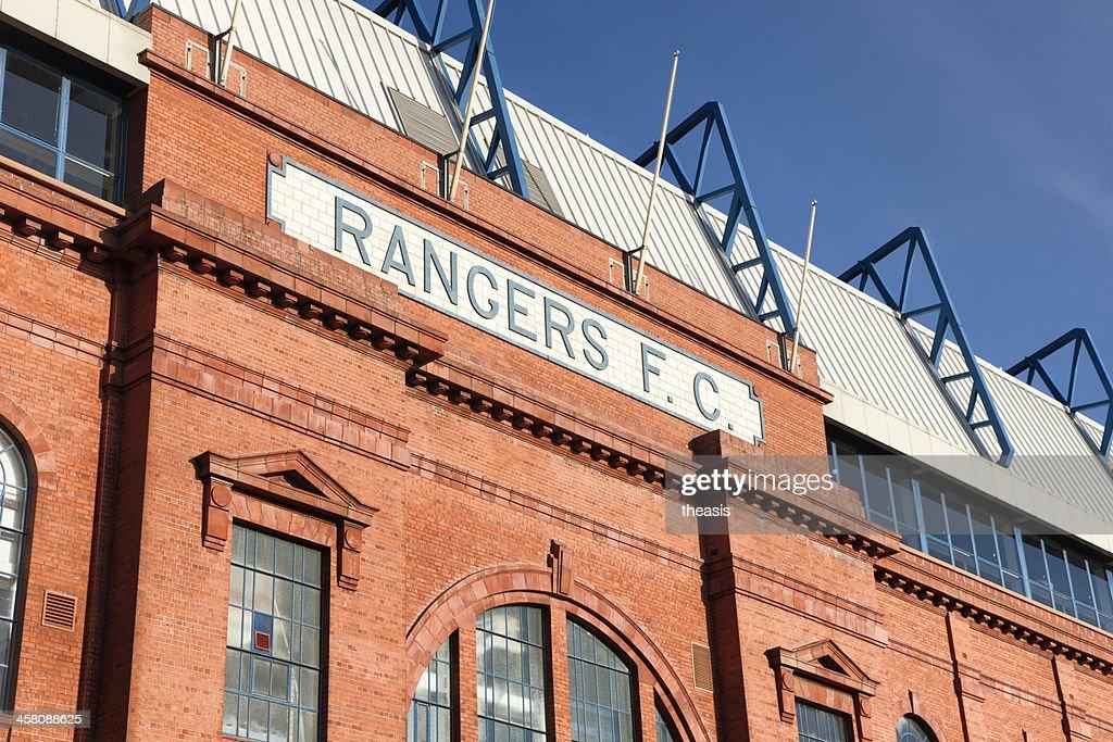 Ibrox Stadium, Glasgow : Stock Photo