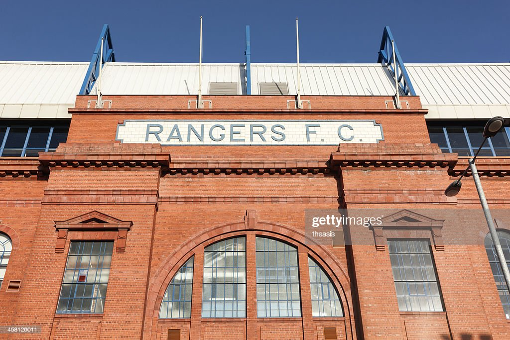 Ibrox Stadium, Glasgow : Stock Photo