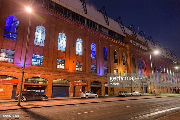 ibrox stadium, glasgow - theasis stock pictures, royalty-free photos & images