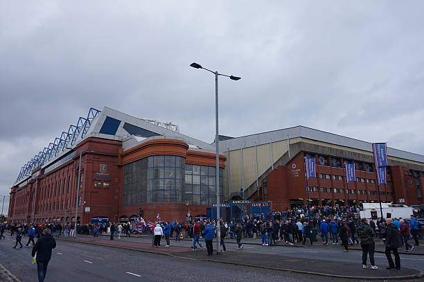 Ibrox Stadium, Rangers FC, Supporters, Glasgow, United Kingdom