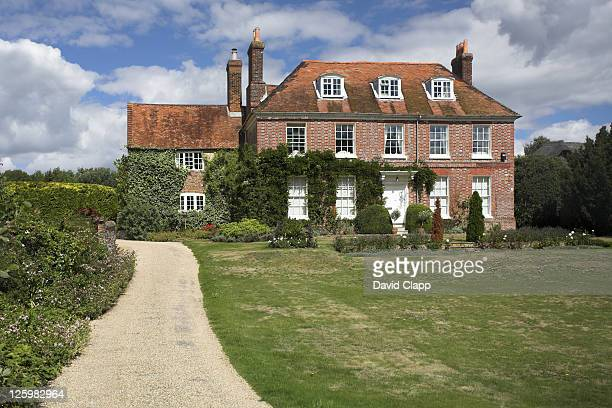 Ibthorpe House, frequented often by Jane Austen, Hurstbourne Tarrant, Hampshire, England