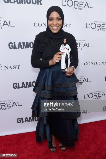 Ibtihaj Muhammad attends Glamour's 2017 Women of The Year Awards at Kings Theatre on November 13 2017 in Brooklyn New York
