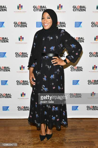 Victory attends Global Citizen Week The Spirit Of A Movement at Riverside Church on September 22 2018 in New York City