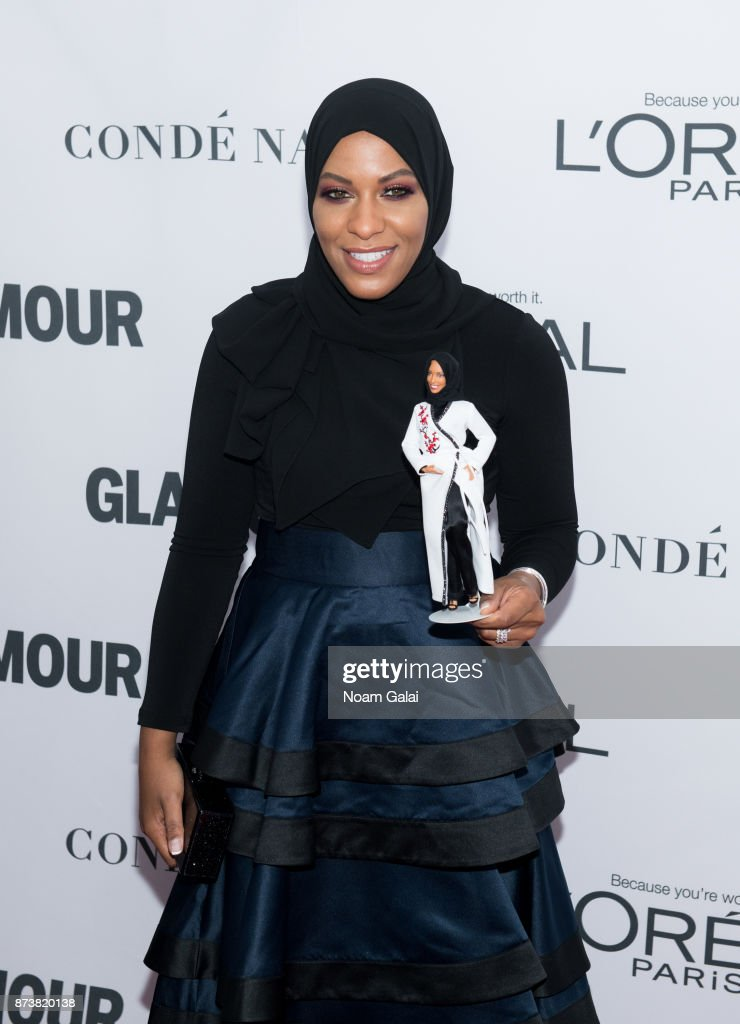 Ibtihaj Muhammad attends the 2017 Glamour Women of The Year Awards at Kings Theatre on November 13, 2017 in New York City.