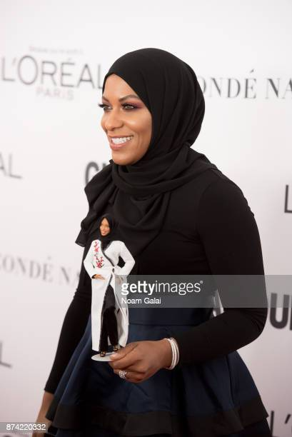 Ibtihaj Muhammad attends the 2017 Glamour Women of The Year Awards at Kings Theatre on November 13 2017 in New York City
