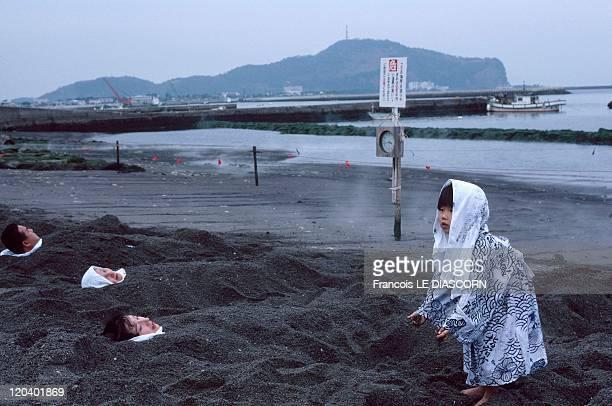 Ibusuki, Japan - Sunamushi .