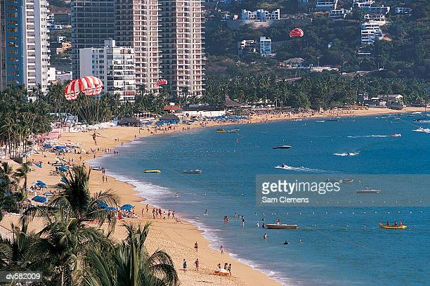 icacos beach, mexico - acapulco stock pictures, royalty-free photos & images