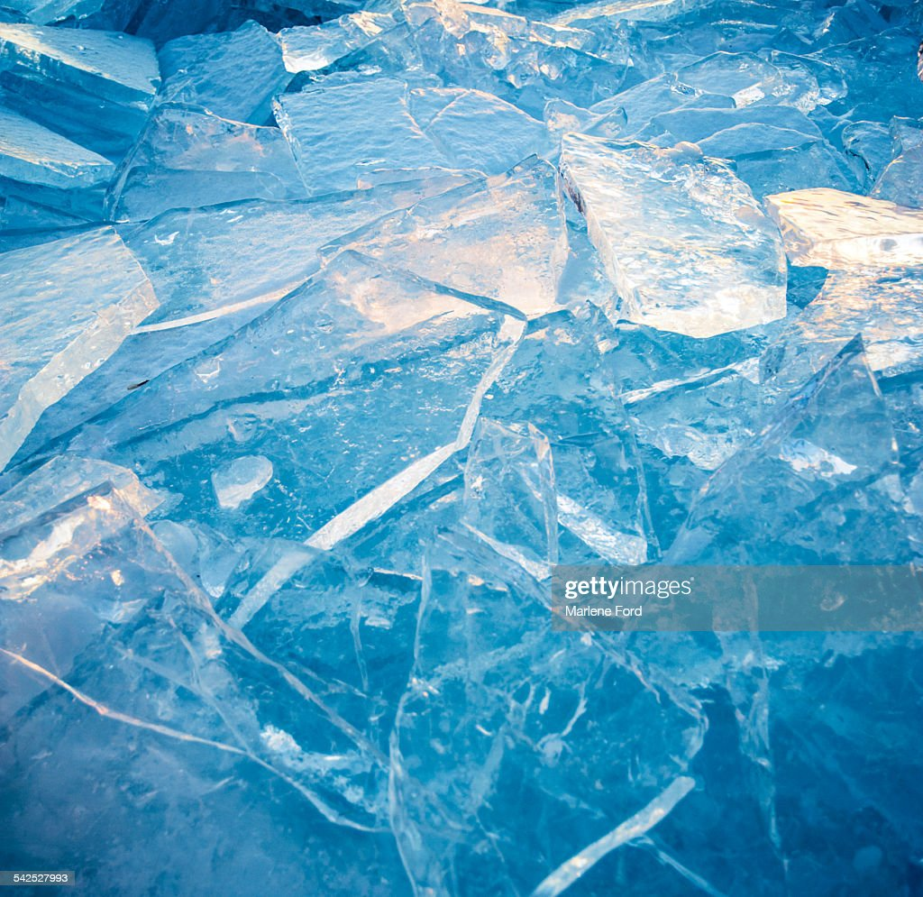 Ice abstract : Foto de stock