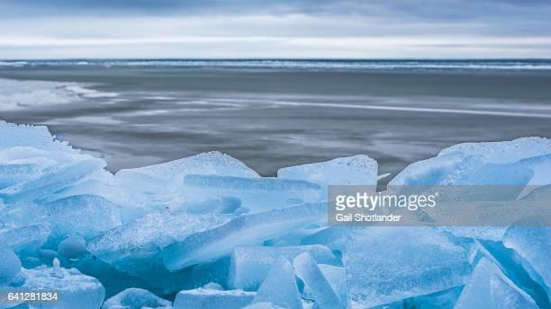 Ice along the Shore