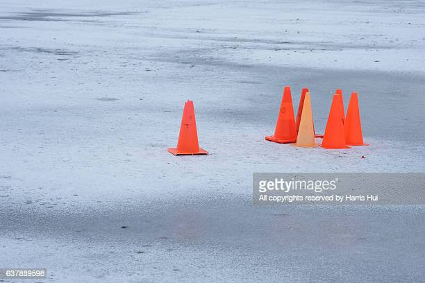 ice and cones - richmond british columbia stock photos and pictures