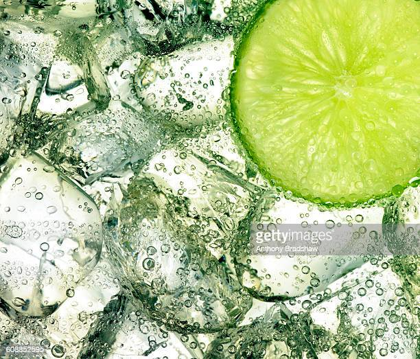 Ice and lime