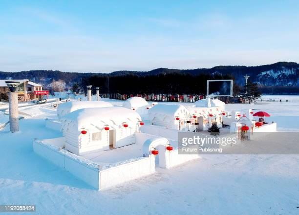 Ice and snow in China's coldest winter Arctic village, Mohe City, Heilongjiang Province, China, January 3, 2020. - PHOTOGRAPH BY Costfoto / Barcroft...