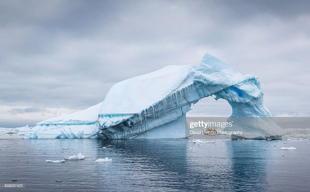 Ice Arch : Stock Photo