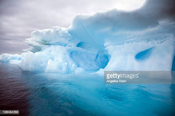 Ice at Antarctica