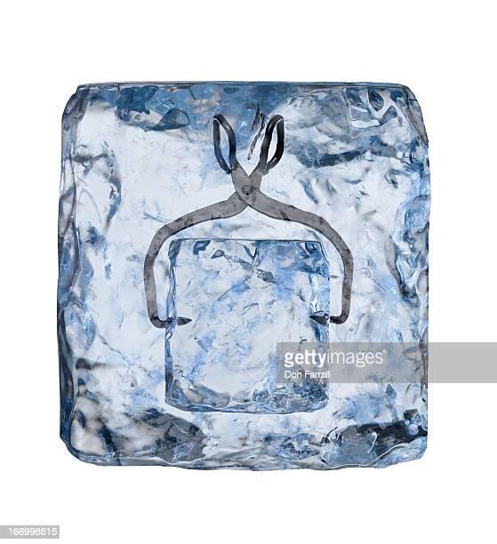 Ice Block, inside of ice block