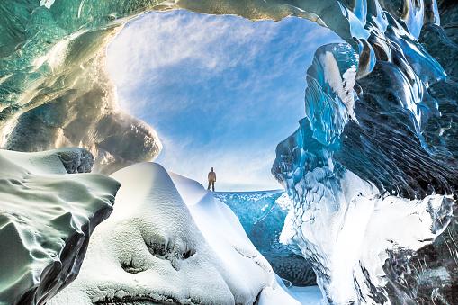 Ice Cave - Breidamerkurjokull - South East Iceland 993736844