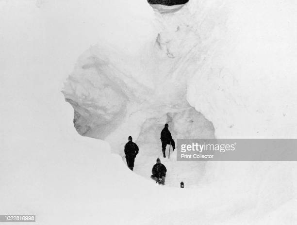 Ice Cave' circa 1911 The final expedition of British Antarctic explorer Captain Robert Falcon Scott left London on 1 June 1910 bound for the South...