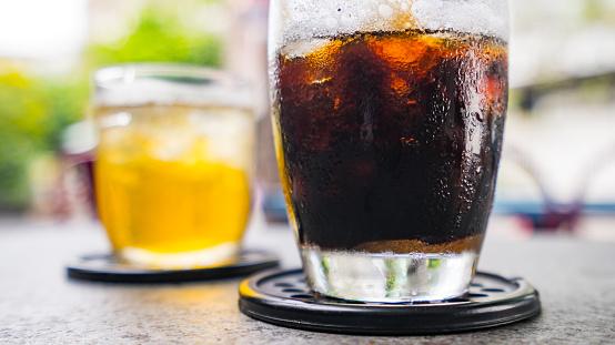 Ice coffee and tea - gettyimageskorea
