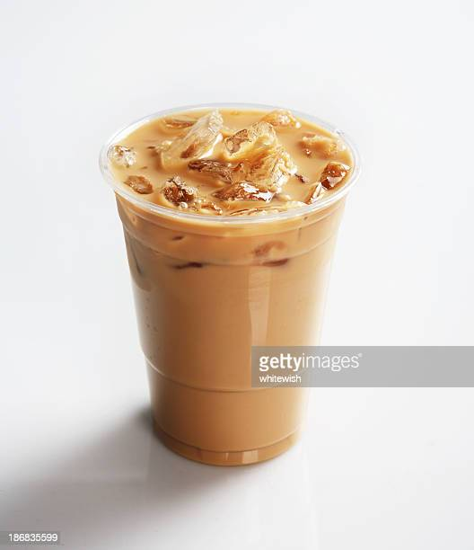 ice coffee - iced coffee stock pictures, royalty-free photos & images