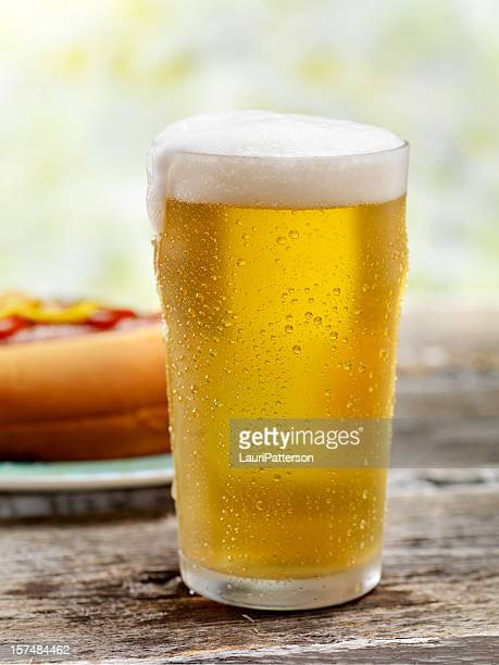 Ice Cold Beer and a Hot Dog
