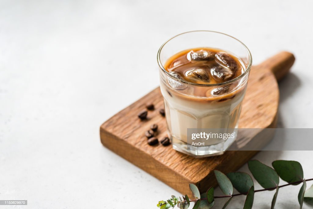 Ice Cold Coffee In Glass : Stock Photo