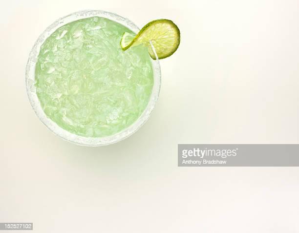 Ice cold margarita