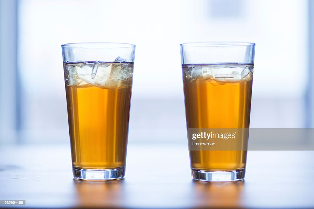Ice Cold Southern Style Sweet Tea : Stock Photo