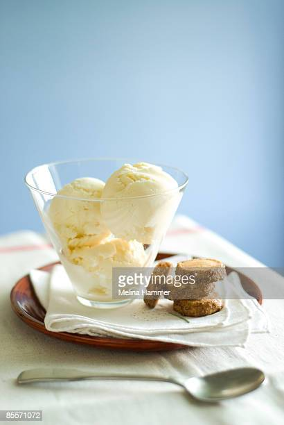 Ice cream and cookies