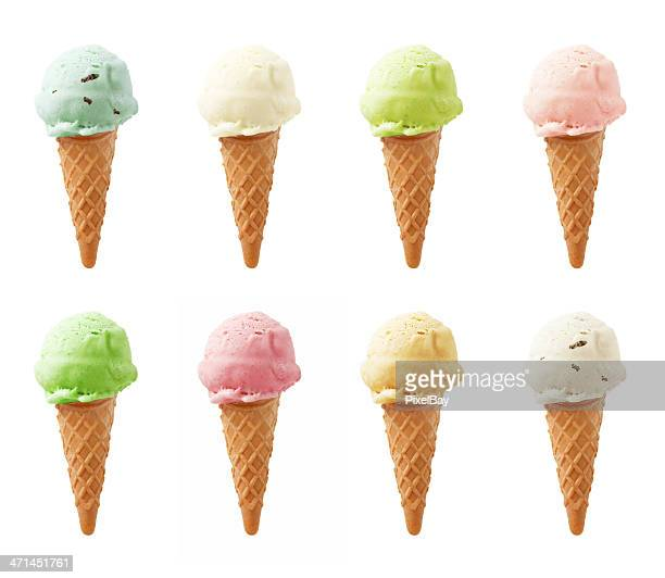 Ice Cream - Eight flavors