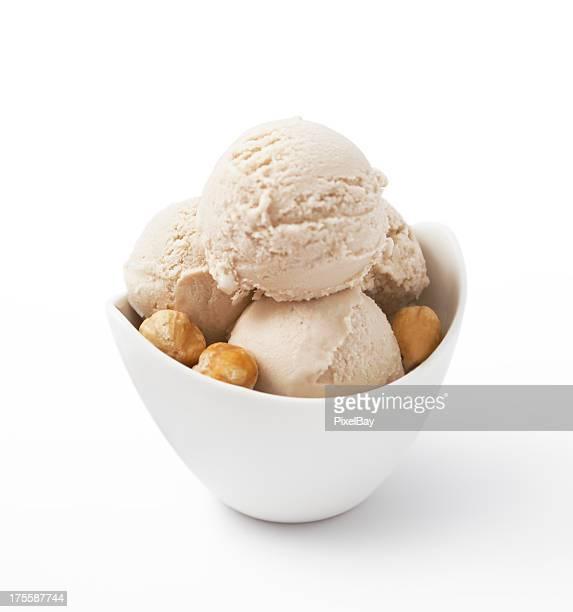 Crème glacée-noisette